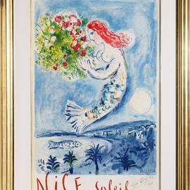 Chagall La Baie des Anges