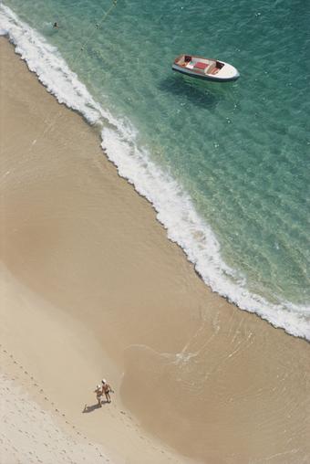 Caleta Beach Par Slim Aarons 1968
