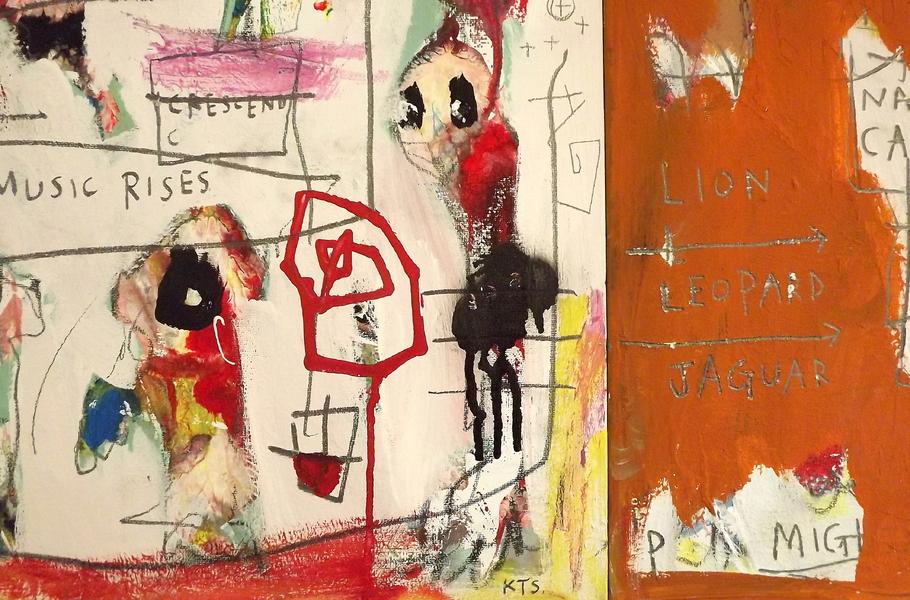 The Music Rises (Phantastica) by Kill The Sofa, 2018 | Painting ...