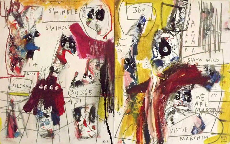 Swindle 360° by Kill The Sofa, 2018 | Painting | Artsper (463393)