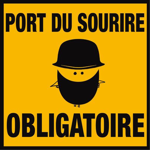 Port du Sourire Obligatoire par La Fabrique du Sourire, 2016 ...