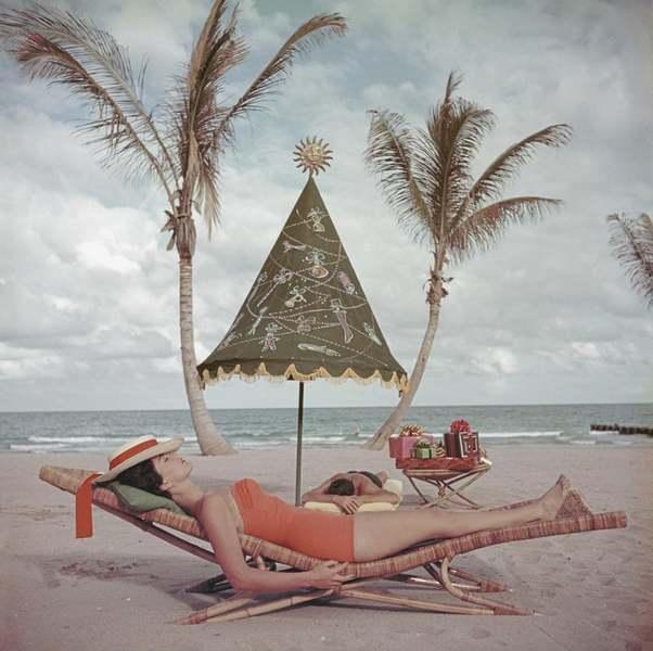 Palm Beach Idyll Par Slim Aarons 1955