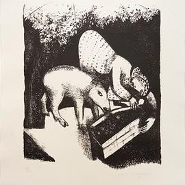 MUSEUM ART PRINT Peasant Life 1925 Marc Chagall