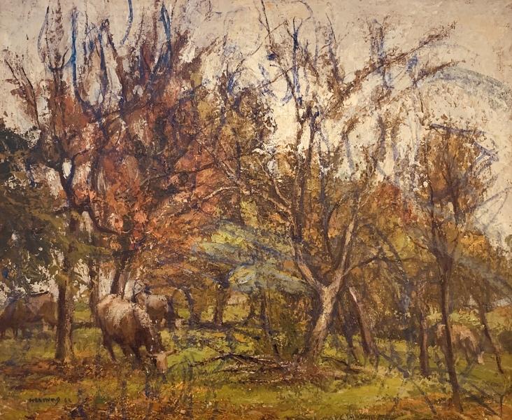 foto de Paysage d'automne by Charles Émile Moïse Hornung, 1942   Painting ...