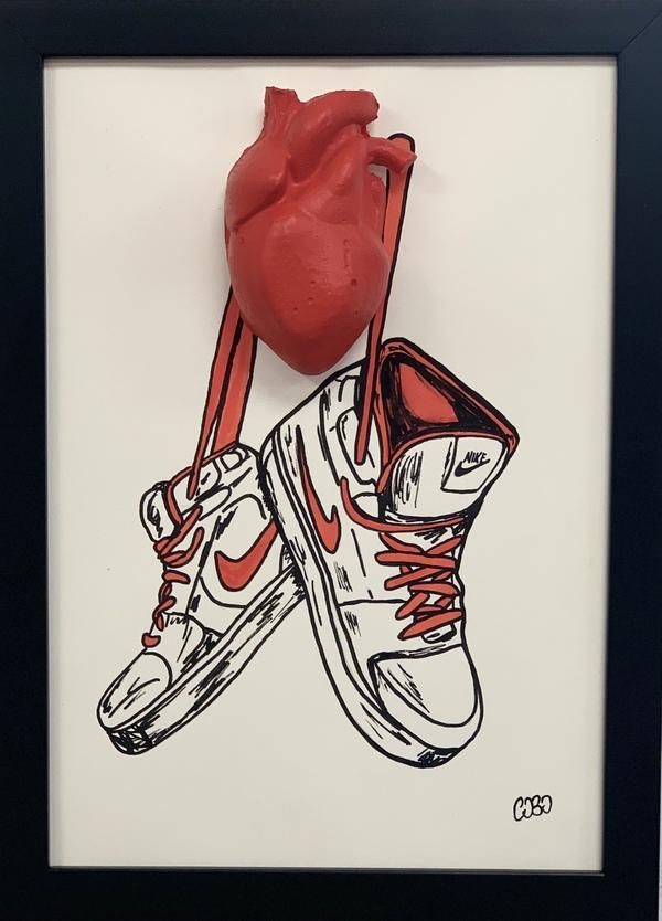 My Shoes par cObo, 2020   Peinture   Artsper (705288)