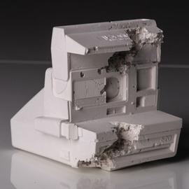 Future relic 6 - Polaroid Camera, Daniel Arsham