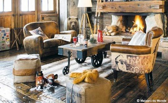 Cozy Chalet Interior