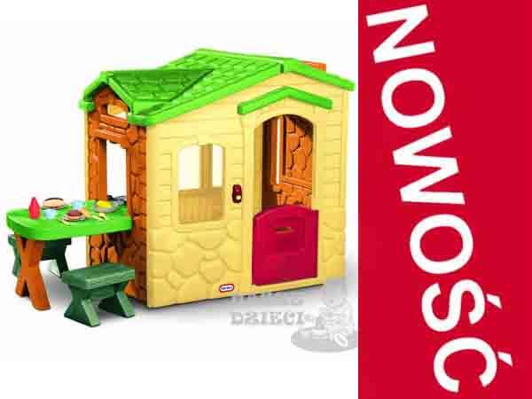 Little Tikes Domek Piknikowy z Patio i magicznym dzwonkiem 172298