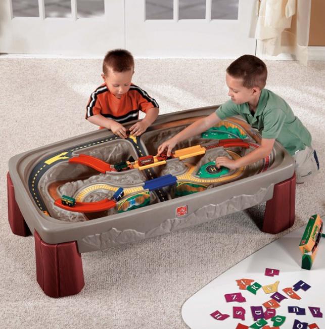 Tor samochodowy dla dzieci STEP2 7547 Kanion z blatem