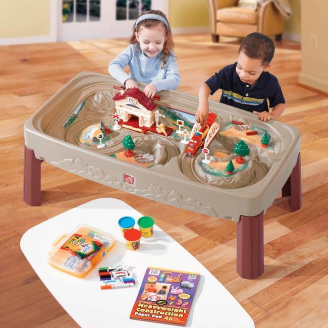 Kolejka elektryczna dla dzieci STEP2 7758 KANION Z POCIĄGIEM