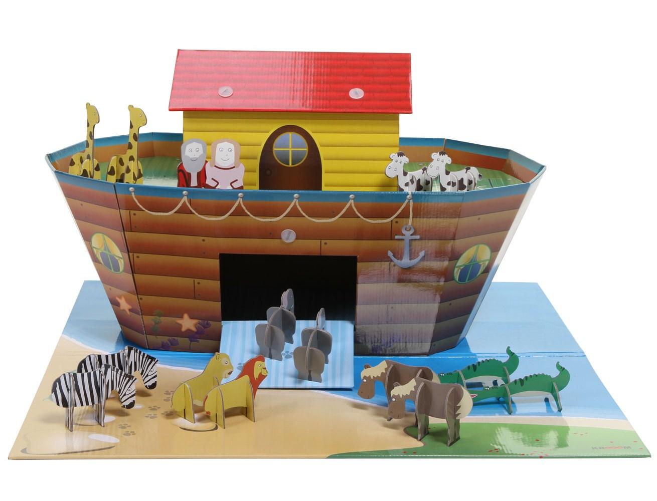 KROOM Arka Noego Z matą i akcesoriami