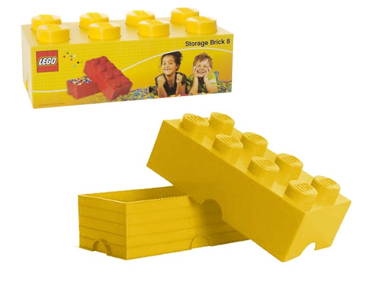 TGA LG-4004-001 Pojemnik Lego na zabawki pojemnik 8 biały