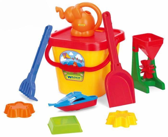 Zabawki do piaskownicy komplet duży 76150 WADER