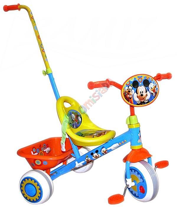JKM RO0028 MICKEY 3 -kołowy Rowerek jeżdzik DISNEY