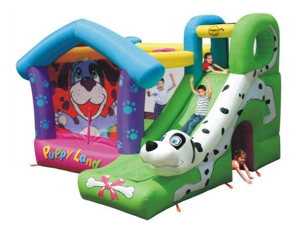 Dmuchaniec Puppy Land – Dalmatyńczyk HappyHop Zamek Dmuchany Zjeżdzalnia Trampolina