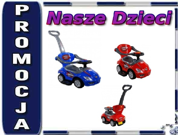 ARTI 382 Jeżdzik Mega Car Deluxe niebieski