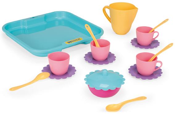 Zestaw piknikowy dla dzieci taca z naczyniami 22030 WADER