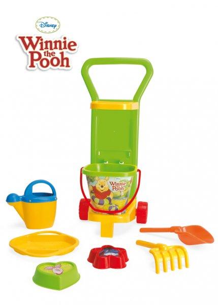 Zabawki do piaskownicy Wózek Kubuś Puchatek Disney 77170 Wader