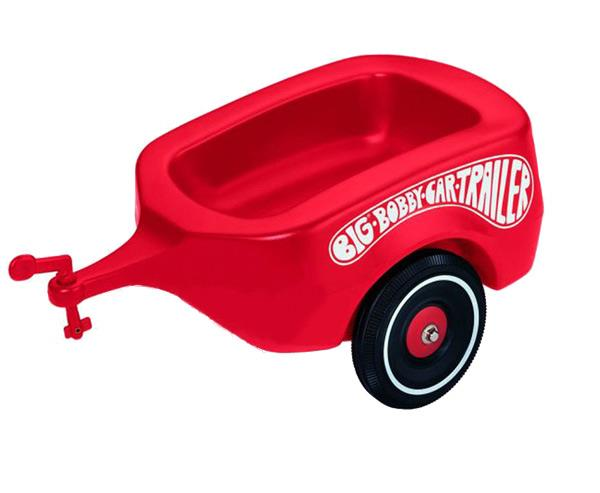 BIG Przyczepka Bobby Car Czerwona