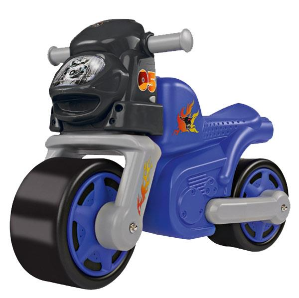 BIG 56331 Motor Jeżdzik Classic Bike Niebieski
