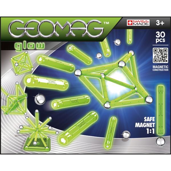 Klocki magnetyczne GEOMAG Glow 335 20el