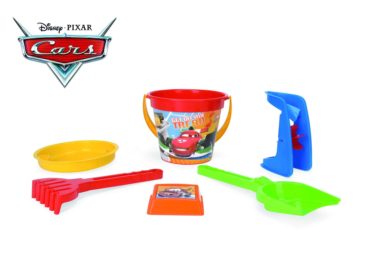 Zabawki do piaskownicy Auta Disney WADER 77637