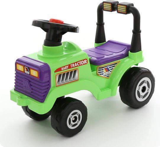 Wader 7956 Jeżdzik traktor Mitia z klaksonem i schowkiem