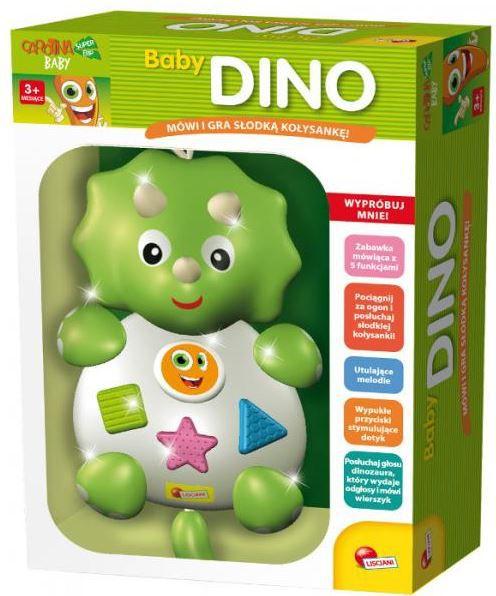 LISCIANIGIOCHI 54237 CAROTINA BABY Dino