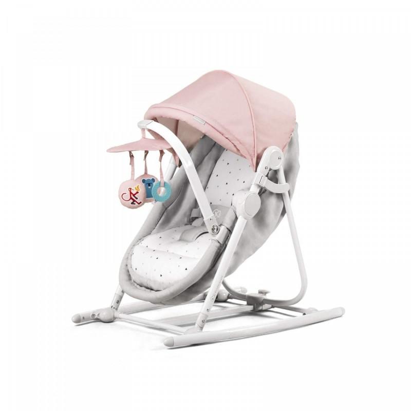 Leżaczek 5w1 Unimo różowy