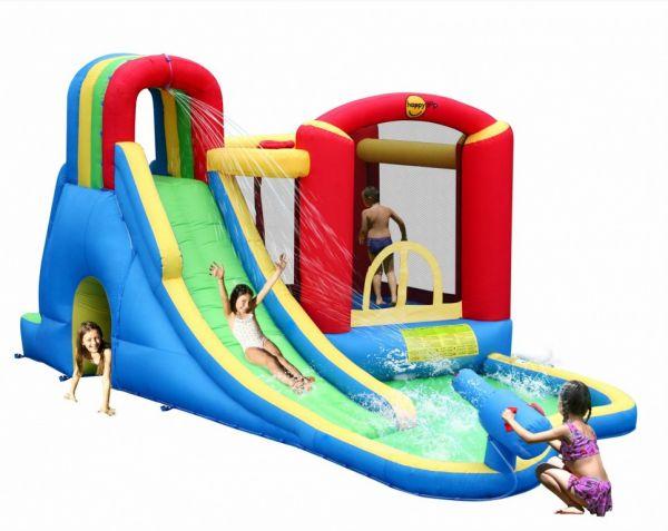 Dmuchaniec HappyHop Zamek Wodny Zjeżdżalnia Trampolina Wodna Strefa Zabawy