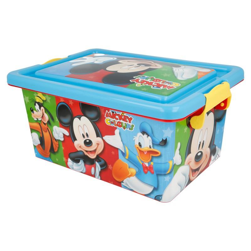 Mickey Mouse – Pojemnik / organizer na zabawki 7 L