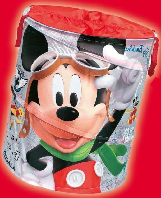 ND19_PLN-013MM Kosz na zabawki Pop-Up – Mickey Mouse