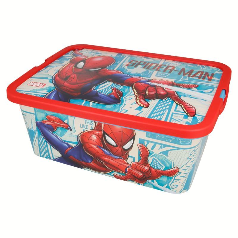 Spiderman – Pojemnik / organizer na zabawki 7 L