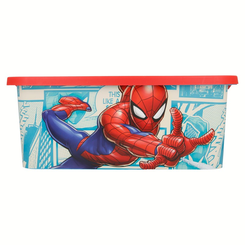 Spiderman – Pojemnik / organizer na zabawki 13 L