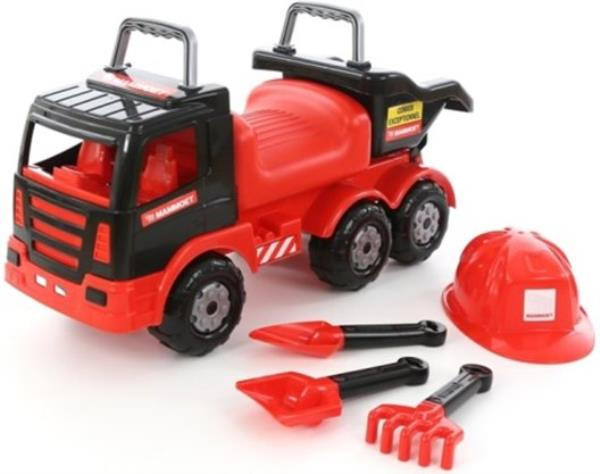 Polesie 57082 MAMMOET Samochód-jeżdzik z kompletem narzędzi w worku