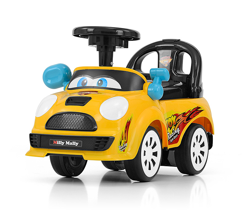 MILLY MALLY Pojazd Joy Yellow JEŻDZIK