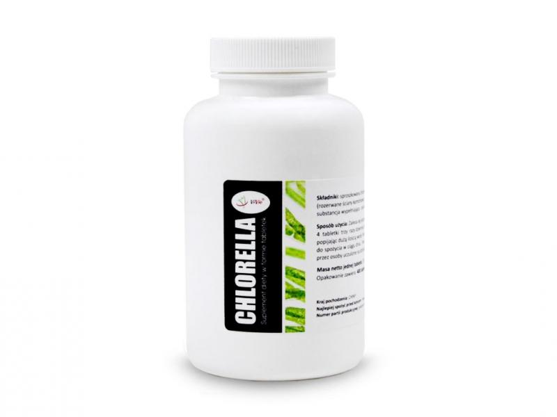 Chlorella tabletki 250mg (400 tabletek 100g)