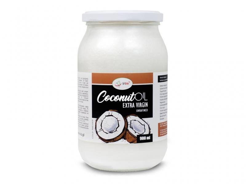 Olej kokosowy VIRGIN VIVIO 900ml