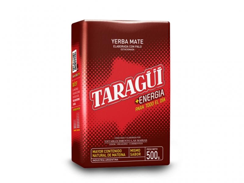 Yerba Mate TARAGUI ENERGIA Mega Pobudzenie- 500g