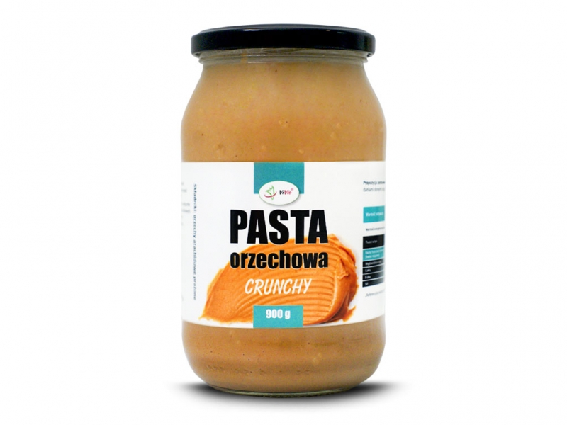 Pasta orzechowa crunchy 900g