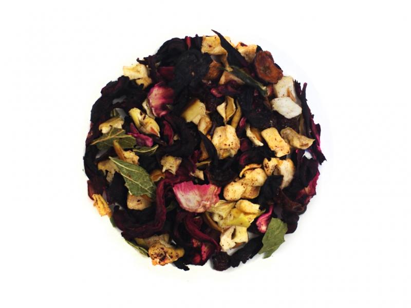 Herbata poziomkowo-waniliowa 50g