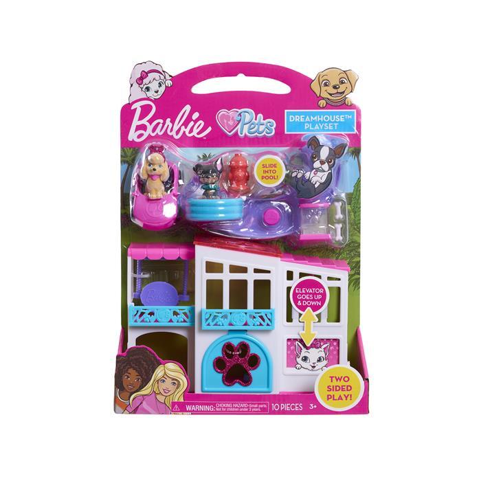 63290 Barbie Wymarzony domek zwierzaków