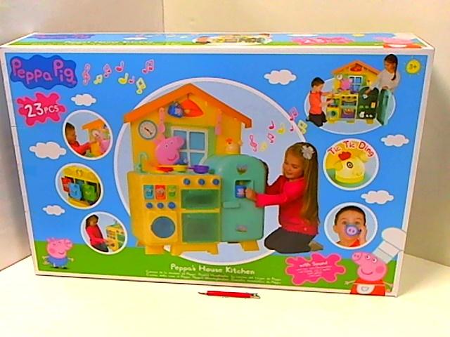 ND24_5321 Domek dla lalek Drewniany Villa Klaudia Dwa Piętra
