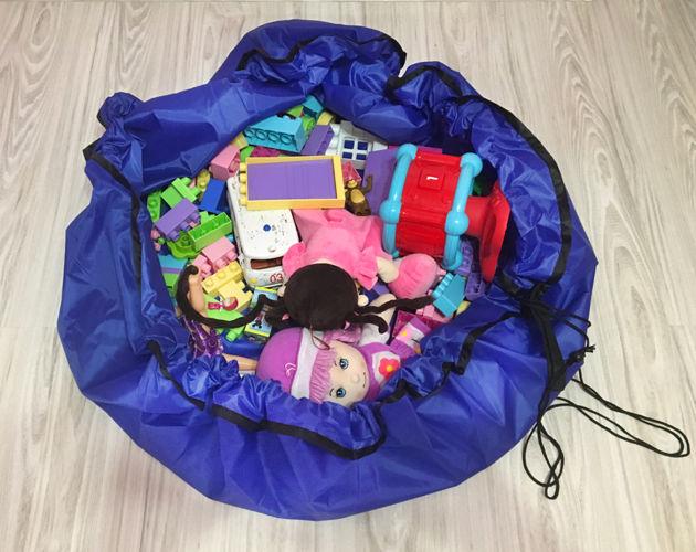 ND38_04447 Princess – Pojemnik / organizer na zabawki 3.7 L