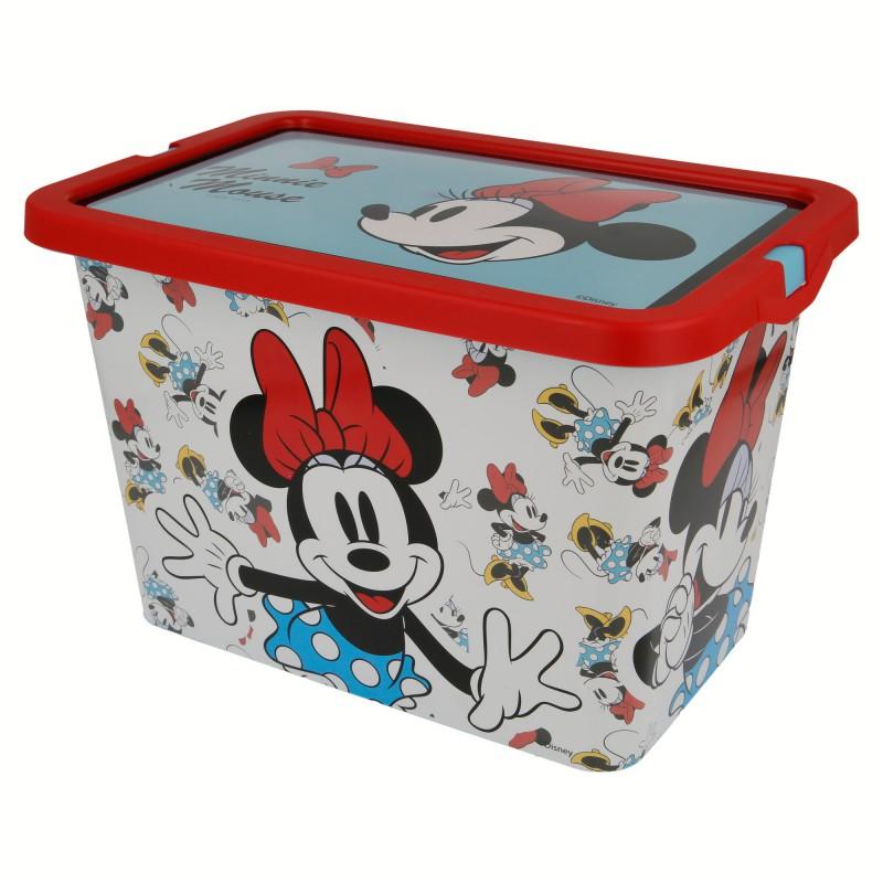 ND38_02804 Minnie Mouse – Pojemnik / organizer na zabawki 7 L