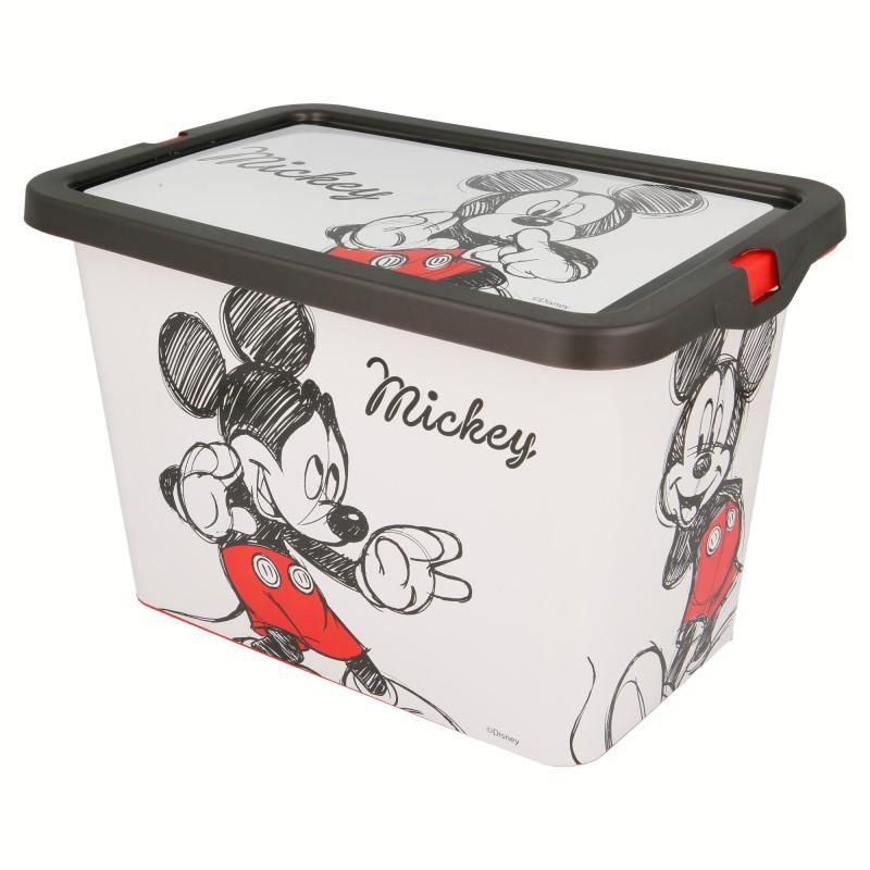 ND38_02644 Mickey Mouse – Pojemnik / organizer na zabawki 7 L