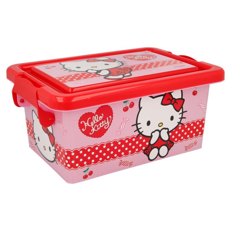 ND38_04497 Hello Kitty – Pojemnik / organizer na zabawki 3.7 L