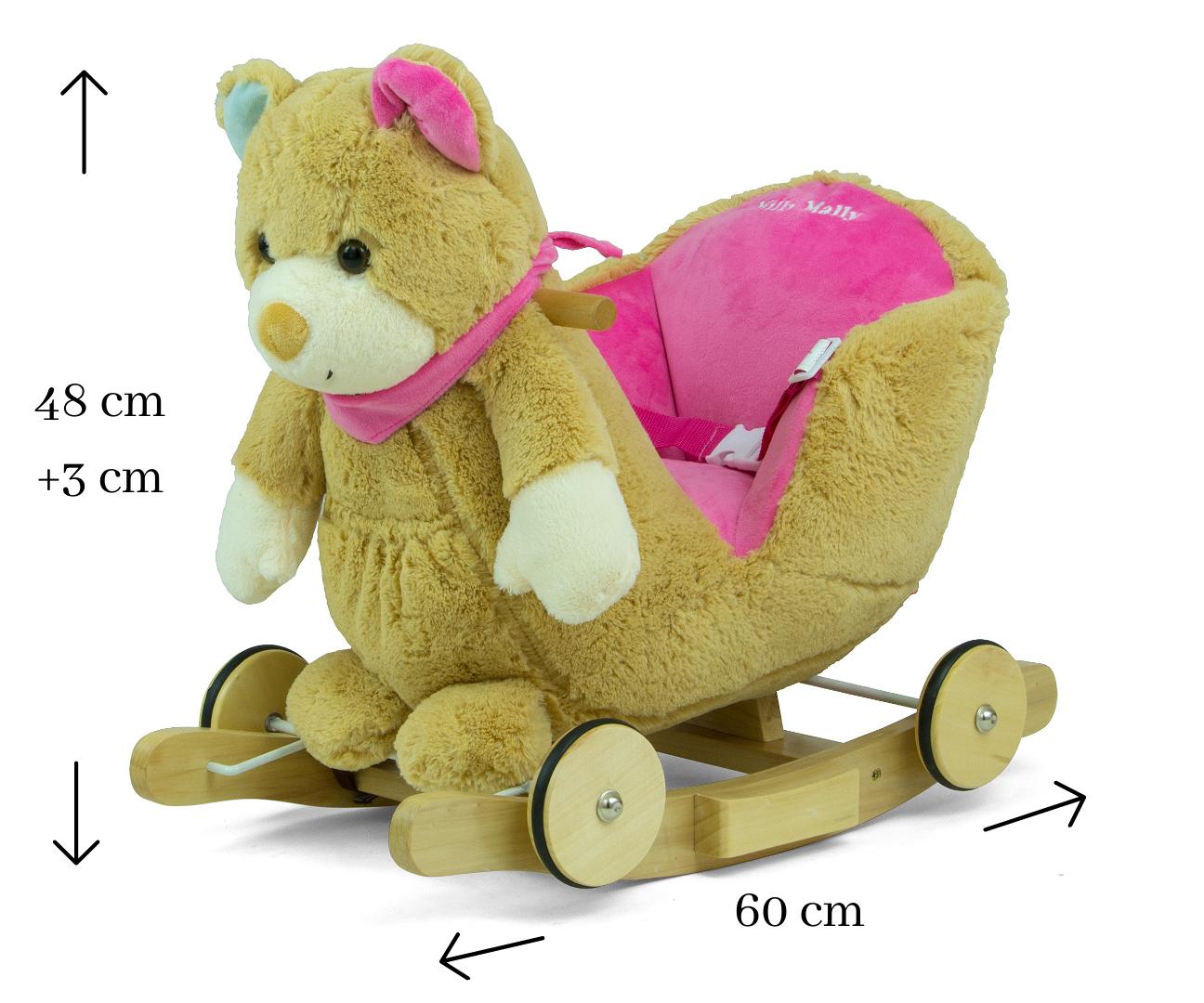 Milly Mally Miś Polly – Pink Bear
