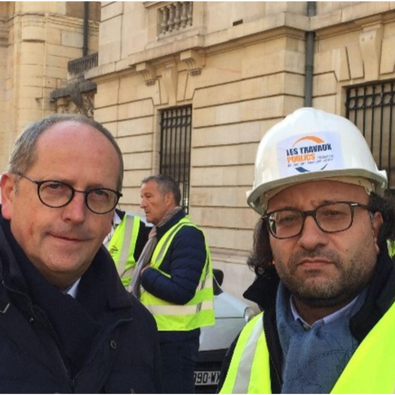 Rémi Delatte soutient les professionnels du BTP face à la hausse du prix du gasoil non routier