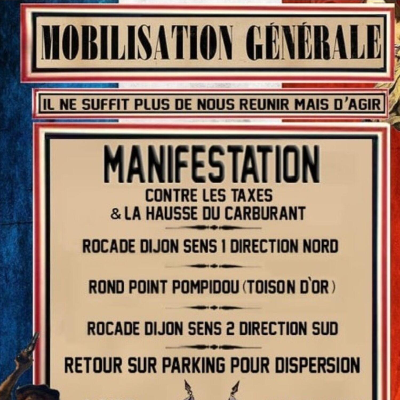 Les précisions sur la manifestation sur la rocade samedi à Dijon